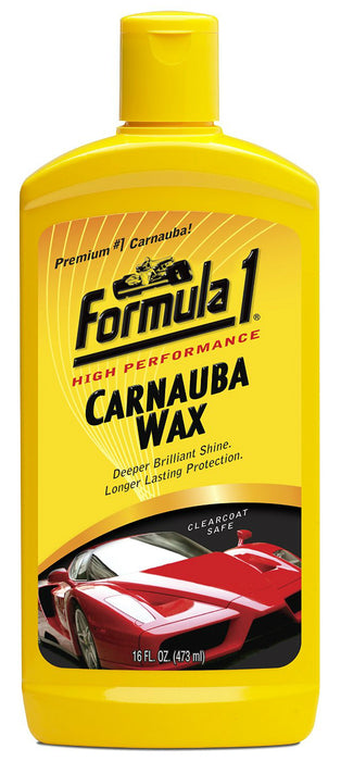 Formula 1 614920 Carnauba Liquid Car Wax, 16 Oz. Bottle