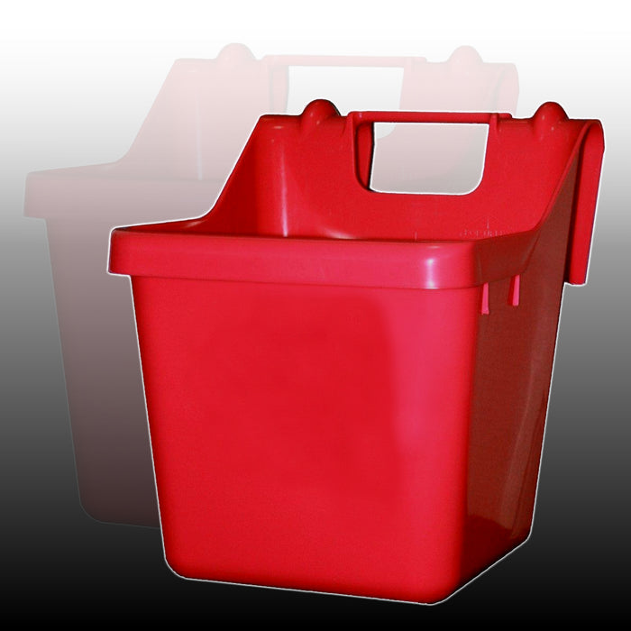 Fortex/Fortiflex 1301602 Over Fence Bucket, 16Qt, Red