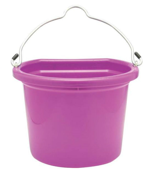 Fortex/Fortiflex 1302012 Flat Back Bucket, 20 Quart