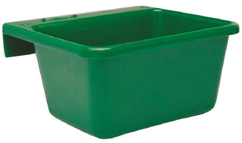 Fortex/Fortiflex 1306603 Small Over The Fence Feeder, 5 Qt, Green