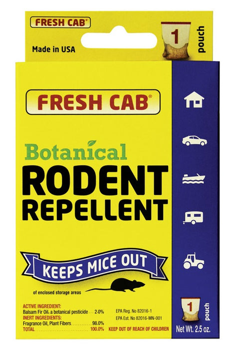Fresh Cab FCSF8 Botanical Rodent Repellent Scent Block, 2.4 Oz