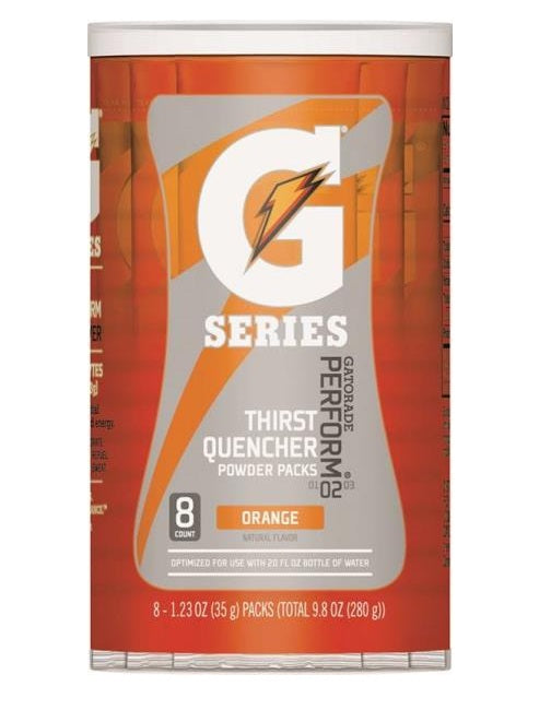 Gatorade 13165 G Series Instant Thirst Quencher Sports Drink Mix, Orange