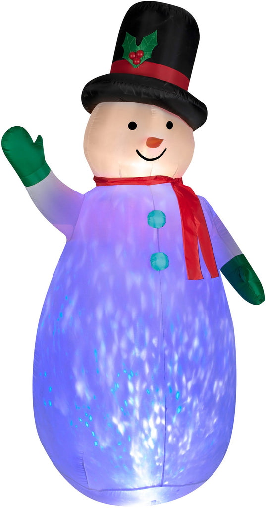 Airblown Kaleidoscope Snowman Inflatable On Sale Holiday