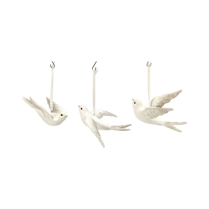Gerson 2354570 Flying Bird Hanging Christmas Ornament, 5.9