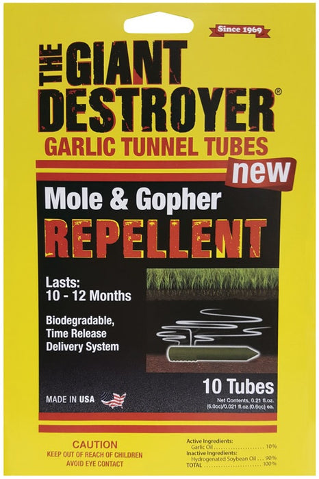 Giant Destroyer 410 Mole & Gopher Repellent Tube, 0.21 Oz