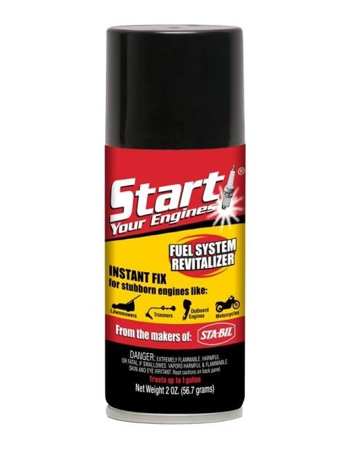 Gold Eagle 21214 Start Your Engines 21205 Fuel System Revitalizer, 2 Oz
