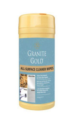 Granite Gold CG0005 Daily Cleaner Wipes, 40 Count