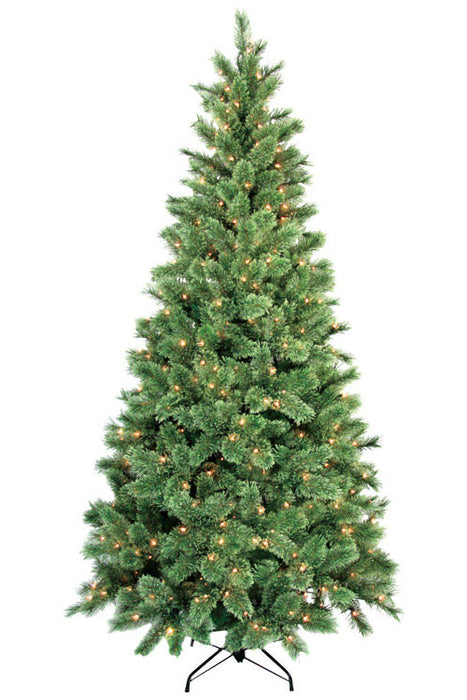 Greenfields MELO510032AC8 Cashmere Prelit Artificial Christmas Tree, 7.5 ft.