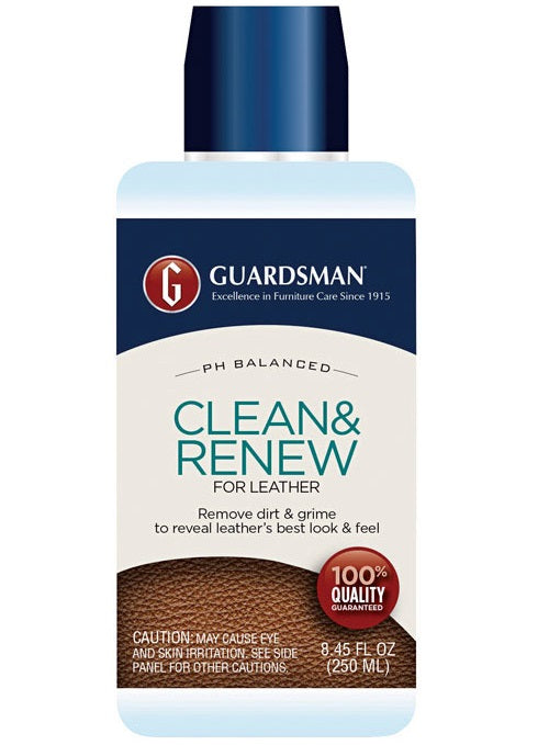 Guardsman 470800 Clean & Renew Leather Cleaner Cream, 8.45 Oz