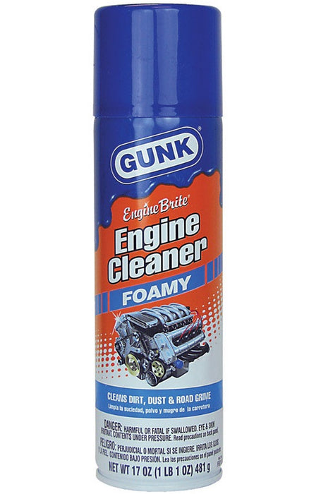 Gunk FEB1CA Engine Brite Engine Degreaser, 17 Oz