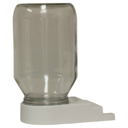 Harvest Lane Honey FEEDBBG-102 Bee Entrance & Feed Distributor with Quart Glass Jar