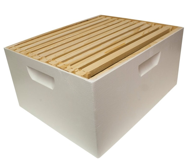 Harvest Lane Honey WWBCD-101 Deep Brood Box with 10 Frames & Foundation