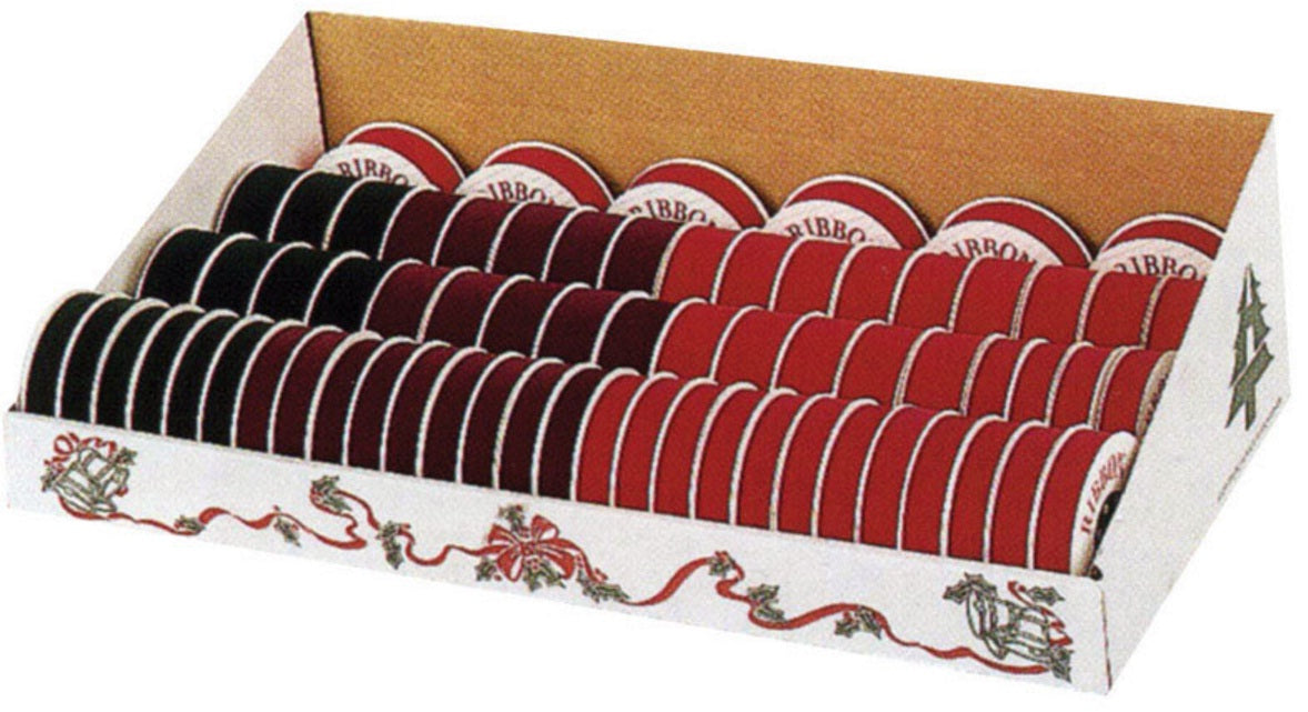 Holiday Trims 7411 Velvet Ribbon Display