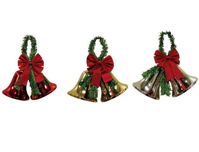 Impact Innovations 3940NP12 Christmas Decoration Nested Double Bells, 7
