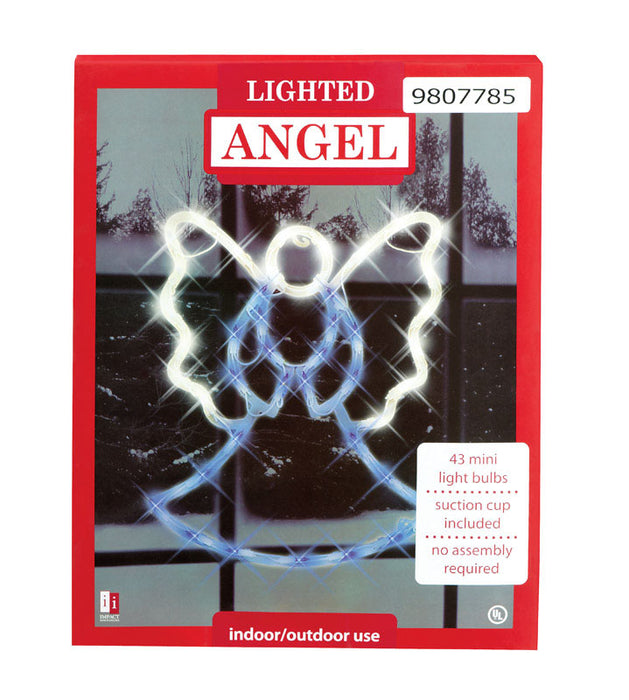 Impact Innovations 95078 Angel Silhouette, Acrylic, Small, 18