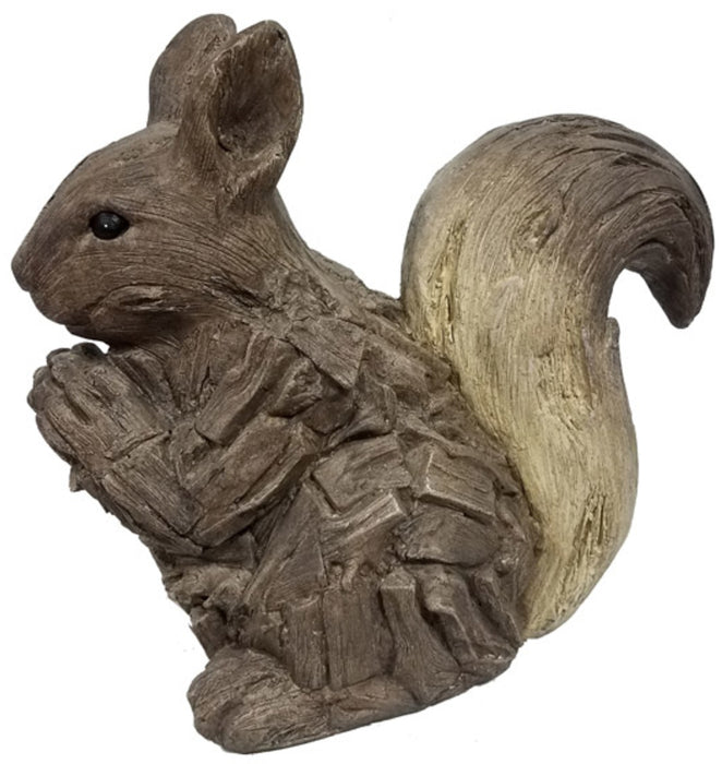 Infinity 18003-16 Squirrel Statue, Cement, Brown, 15.67