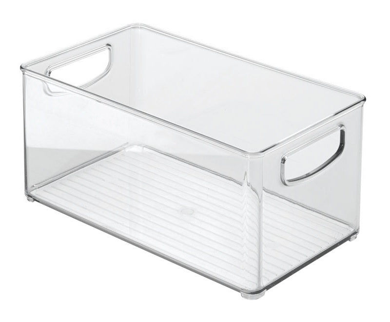 InterDesign 64530 Clear Kitchen Bin, 10