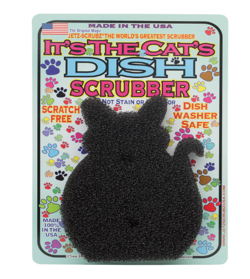 Jetz-Scrubz J53 Pet Dish and Bowl Scrubber Sponge, Cat