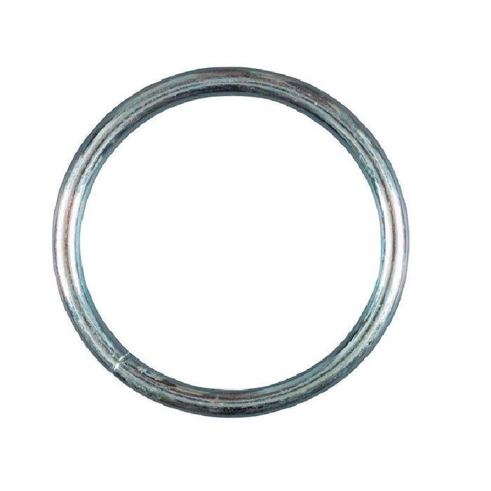 Baron 2-2-1/2 Round Weld Ring, Steel, Zinc Plated