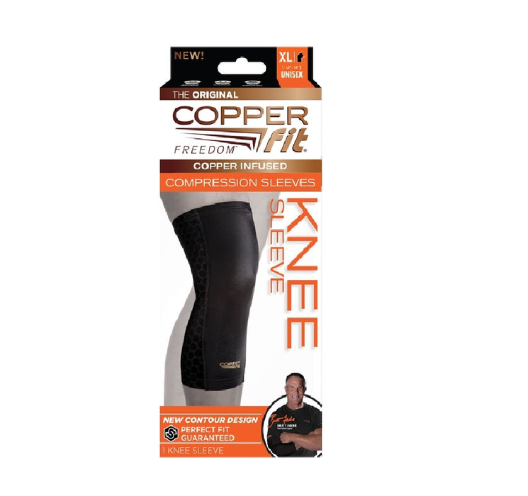 Copper Fit CF2KNXLG As Seen On Tv Compression Knee Sleeve