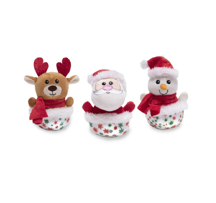 Cuddle Barn CB22617 Merry & Bright Ornaments Animated Plush Toy
