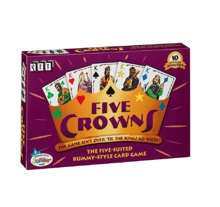 Playmonster 4001 Five Crowns Card Game, Multicolor