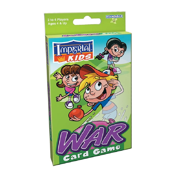 Playmonster 1466 Imperial War Card Game, Multicolor