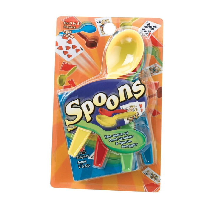 Playmonster 7225 Spoons Card Game, Multicolor