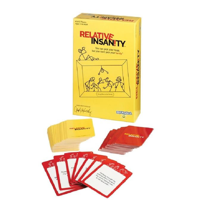 Playmonster 7441 Relative Insanity Family Game