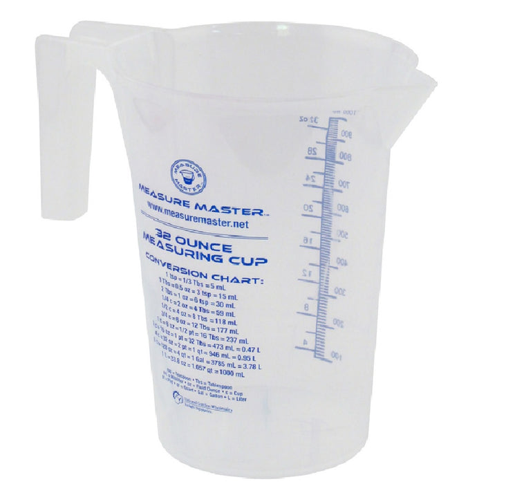 Hawthorne 740324 Measure Master Measuring Cup, 32 oz.