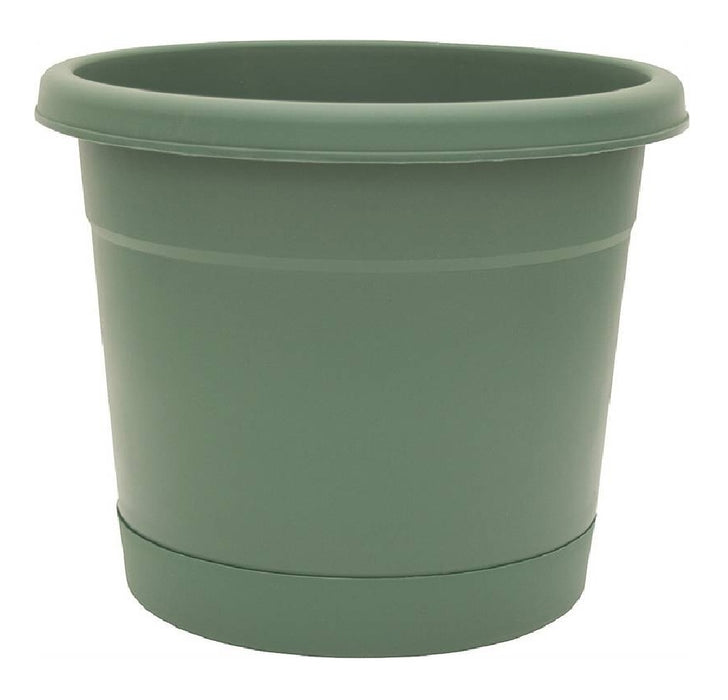 Southern Patio RN1608OG Rolled Rim Planter, Plastic