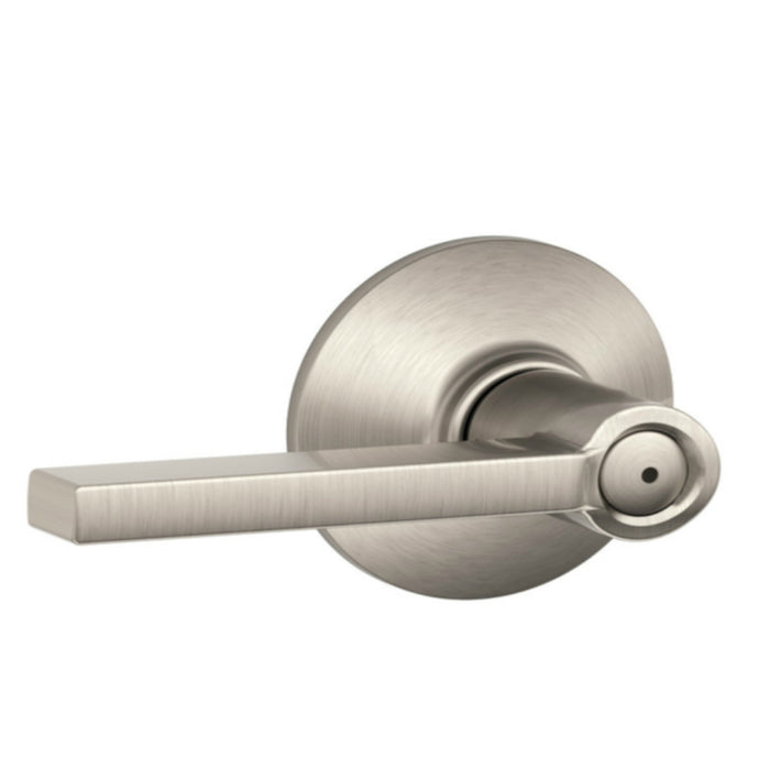 Schlage F51VLAT619 Latitude Entry Lever, Satin Nickel