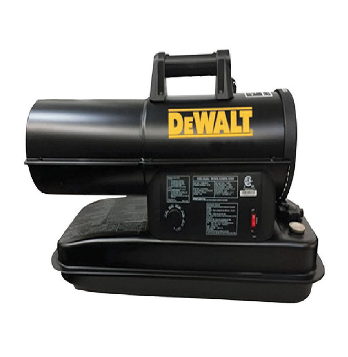 DeWalt F340673 Forced Air Kerosene Heater, Black