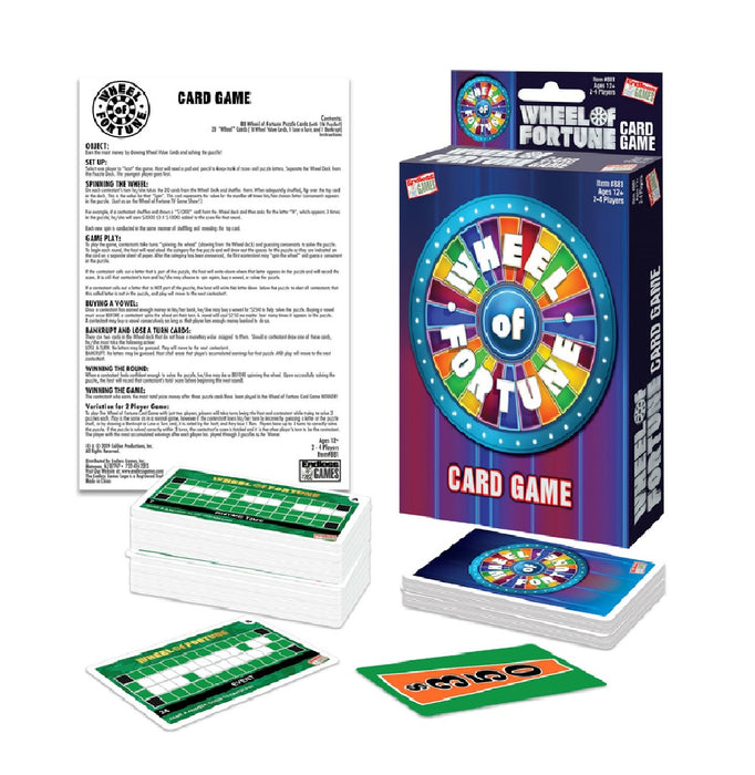 Endless Games 881 Wheel of Fortune Card Game