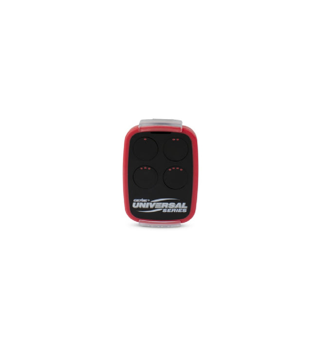 Genie 40657R Door Universal Remote Control, Black/Red
