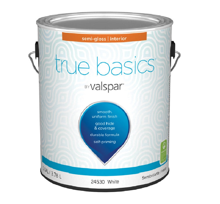 Valspar 080.0024530.007 True Basics Interior Semigloss Paint