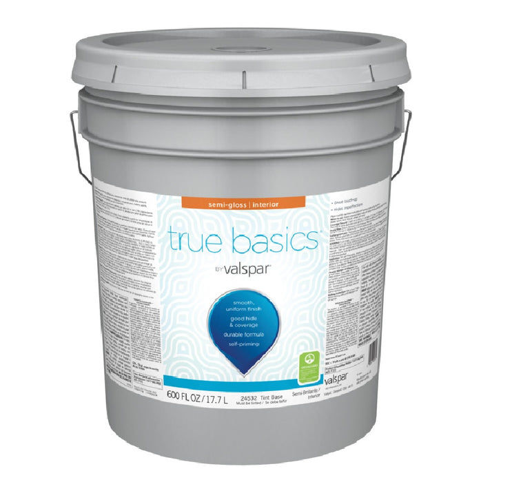 Valspar 080.0024532.008 True Basics Interior Semigloss Paint