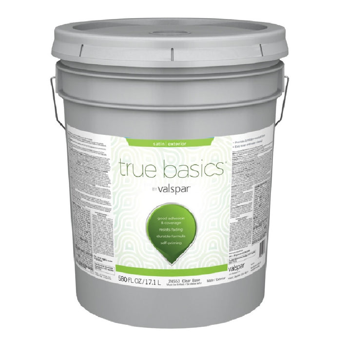 Valspar 080.0024573.008 True Basics Exterior Satin Paint