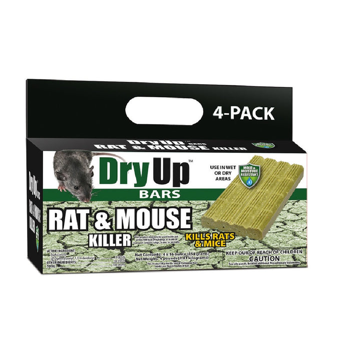 Dry Up DRY-BAR Bait Blocks For Mice and Rats