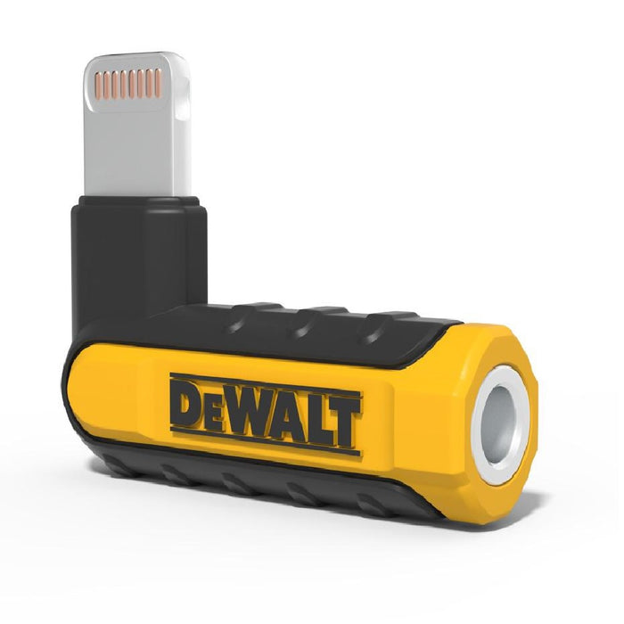 Dewalt 190 9037 DW2 Audio Adapter for Lightning, 90°