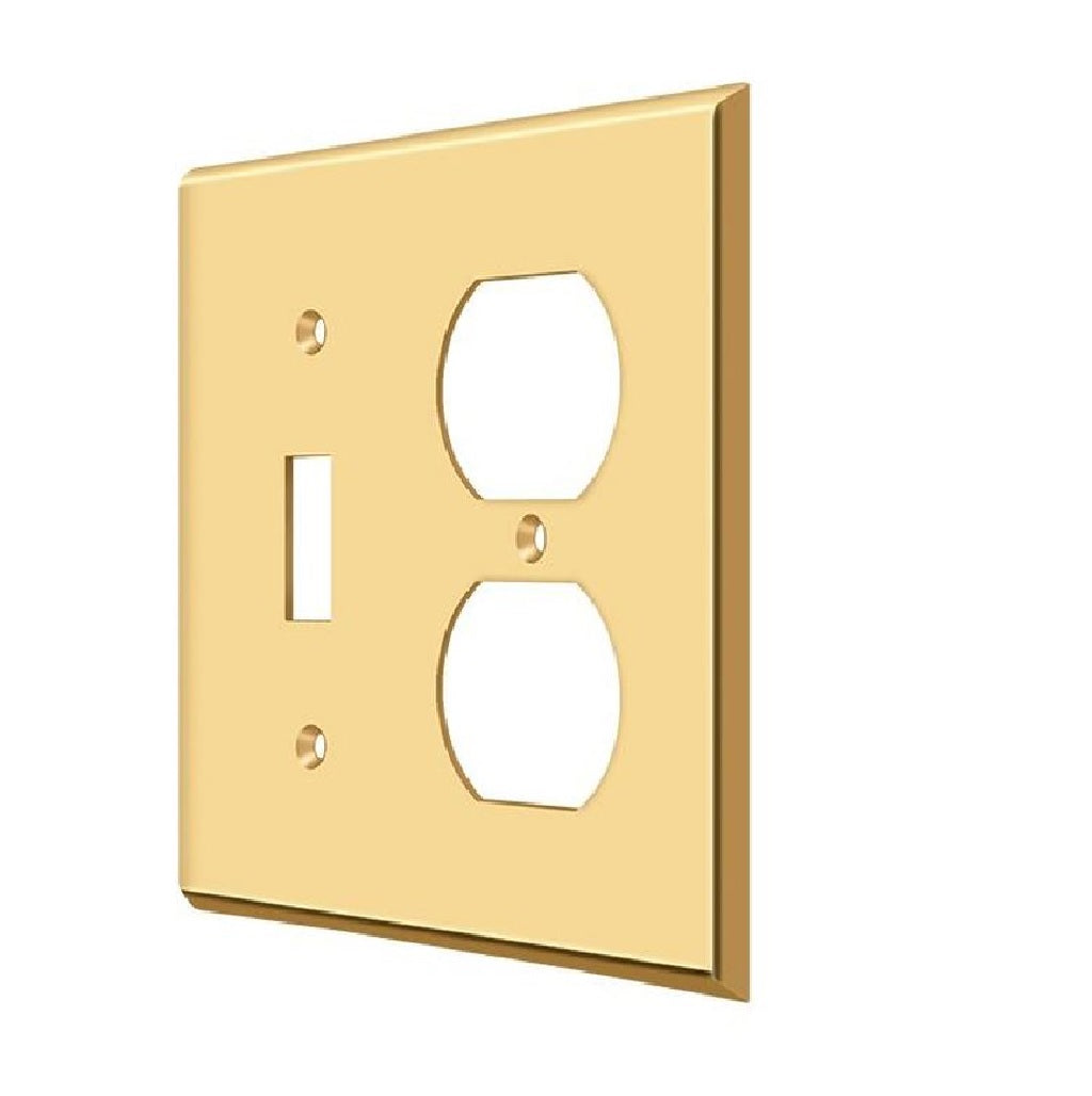 Deltana SWP4762CR003 Single/Double Outlet Switch Plate