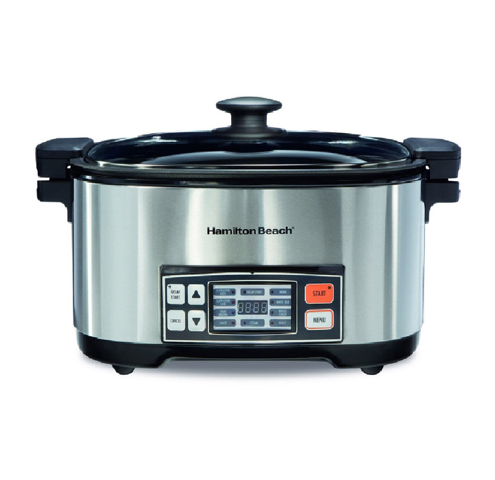 Hamilton Beach 33065 Programmable Multi-Cooker, Silver