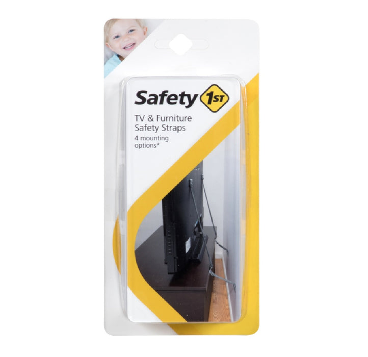 Safety 1st HS304 Carded Furniture Strap, Black