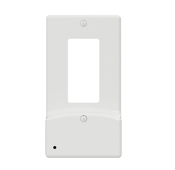 Westek LCR-UDDO-W LumiCover Rocker USB Nightlight Wall Plate