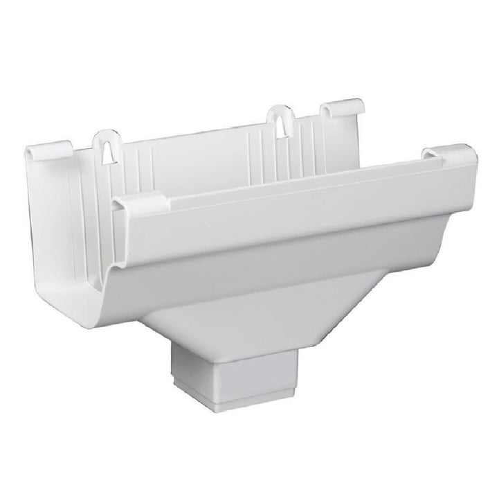Amerimax M0506 6 Traditional Gutter Drop Outlet White