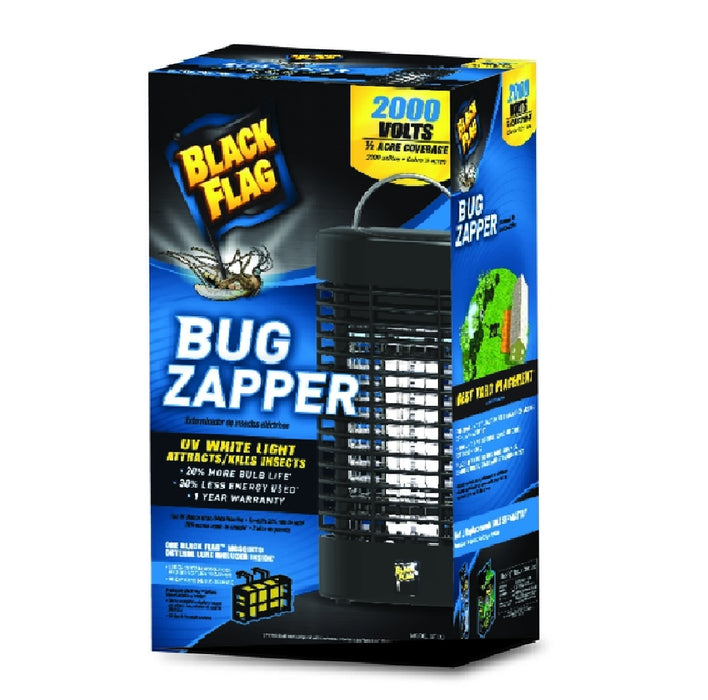 Black Flag BZ-20 Outdoor Bug Zapper, Flying Insects
