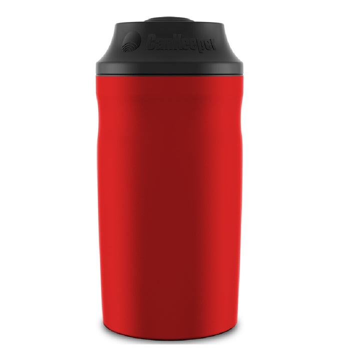 CanKeeper CK RED Reusable Beverage Koozie, Red