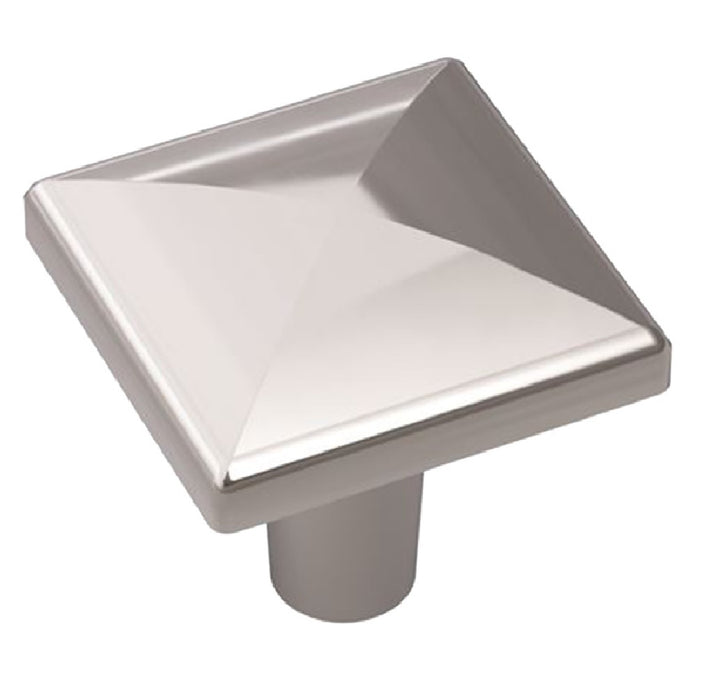 Amerock BP2937026 Contemporary Square Cabinet Knob