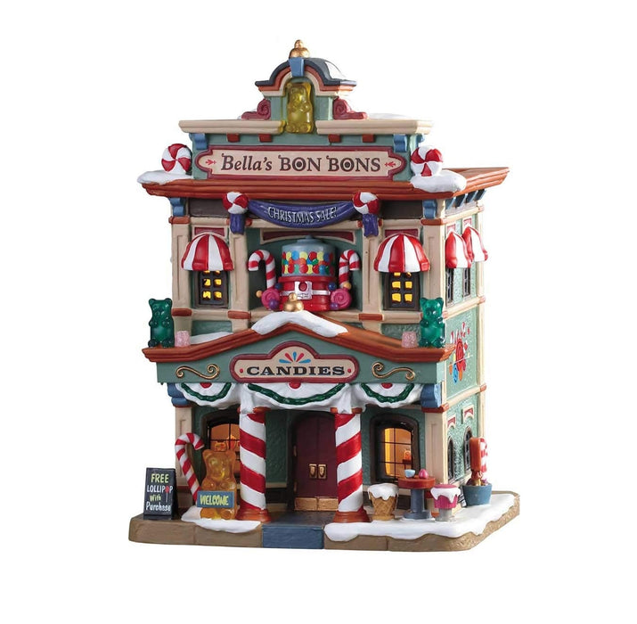 Lemax 95509 Bella's Bon Bon Christmas Village Building, Multicolored
