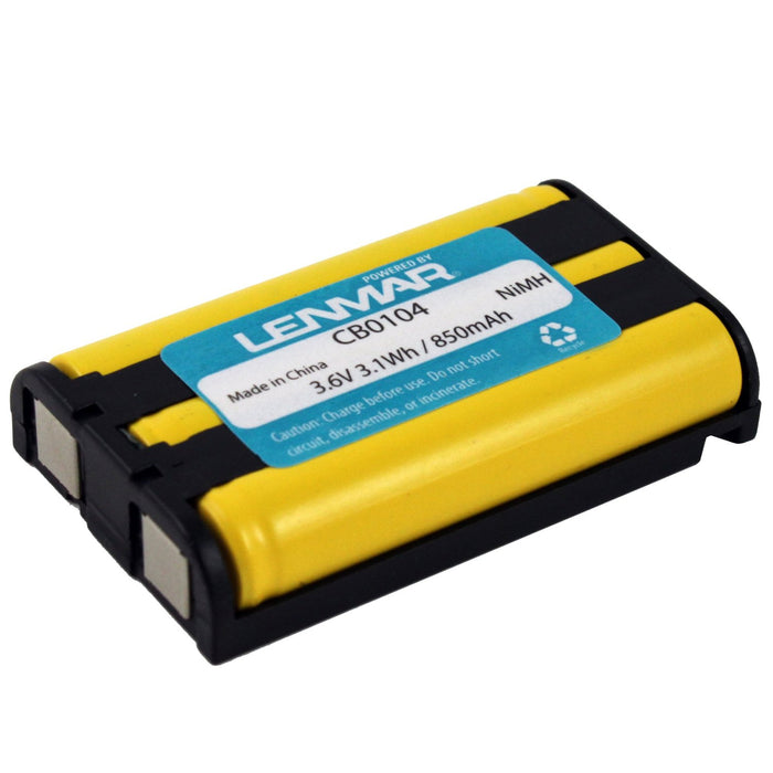 Lenmar CB0104 Panasonic Cordless Phone Battery, 3.6 Volt